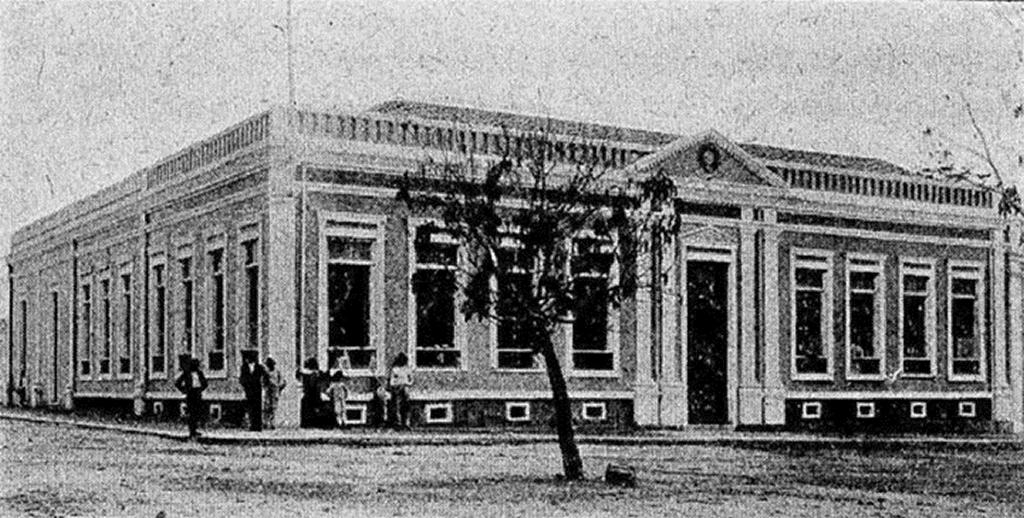 Conselho de Intendência de Teresina, prédio onde foi fundada Academia Piauiense de Letras, em 30 de dezembro de 1917, e instalada, em 24 de janeiro de 1918